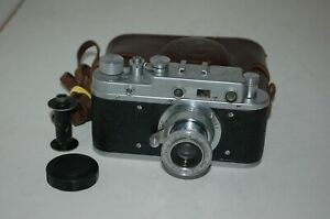Zorki-C Vintage 1957 Rangefinder Camera and Industar-22 lens. 57040835. UK Sale
