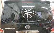 COMPASS CAMPER VAN STICKER 500x500mm SUIT VW T5 T4 T25 CRAFTER TRANSPORTER