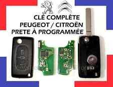 LLAVE COMPLETA PROGRAMAR 2 Botones CITROEN C2 C3, C4, C5, ECT ENVIADO 48H