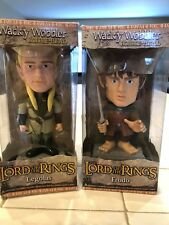Funko Pop! Wacky Wobbler Frodo and Legolin. (Lord of the Rings) New In Box.