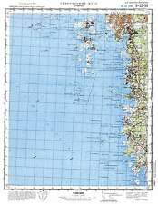 Russian Soviet Military Topographic Maps - STYRSO (Sweden) 1:100 000, REPRINT