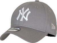 NY Yankees New Era 940 Kids Grey Baseball Cap (Age 4 - 10 years)