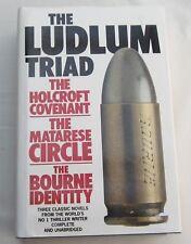 ROBERT LUDLUM - THE LUDLUM TRIAD - THREE OF HIS CLASSIC NOVELS IN 1 VOLUME