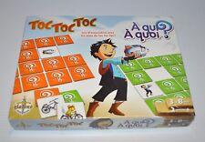 TOC TOC TOC A Qui A Quoi MEMORY GAME Quebec Television GLADIUS