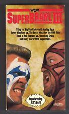 WCW Superbrawl III (VHS, 1993)