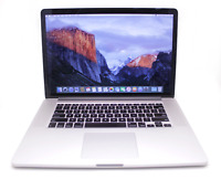 "A1398 MacBook Pro Retina 15"" Mid 2015 (DG) I7-4870HQ/16GB/128GB C-Stock RF08-037"