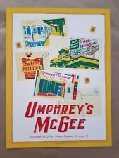 Umphreys Mcgee by Print by Landland Chicago New Years Run Riviera