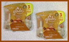 6 ~ Glade Plugins Scented Oil Refills Nutcracker Delight Rich Hazelnut & Praline