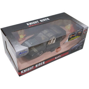 Jada Toys Hollywood Rides Knight Rider K.I.T.T. Die Cast Car Model (Scale 1:24)