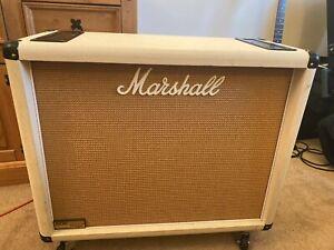 Marshall 1936V 2 x 12 cab custom rare ivory