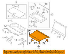 VOLVO OEM 2016 XC90 Interior-Rear-Luggage Compartment Cover 39825218