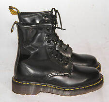 Dr Doc Martens black leather 1460 Boots Womens UK Size 3 US 5 England 8 Eye