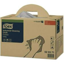 More details for tork 520371 tork industrial cleaning cloth grey (single)