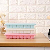 plastique cube de la moisissure avec couvercle jelly congélateur bac à glaçons