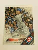 2016 Topps Walmart Holiday Baseball Metallic - Anthony Rizzo - Chicago Cubs