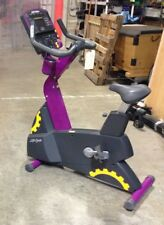 Life Fitness Integrity Upright Bike (Purple) | Commercial Cardio Equipment
