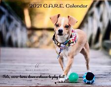 Dog Wall Calendar 2021 - C.A.R.E. Rescued Adopted Dogs
