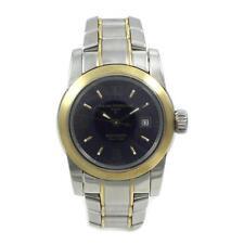 Ladies Stainless Steel/18k Gold Girard Perregaux F Date Watch 8039