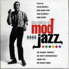 """El regreso de Mod Jazz """"los más astutos, hippie más gatos están de vuelta en la ciudad"""" CD"""