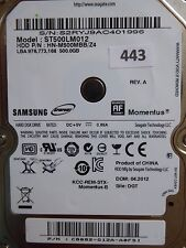 500GB Samsung ST500LM012 HN-M500MBB /Z4 | P/N: C8082-G12A-A0FSI | 04.2012  #443
