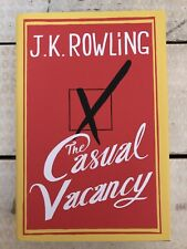 The Casual Vacancy J K Rowling Signed First Edition Hardcover