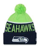 Seattle Seahawks Players Sideline Sports Knit Beanie Cap Hat NFL New Era