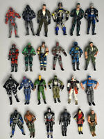 Lot of 24 GI Joe 2001-2006 Modern Era Action Figures