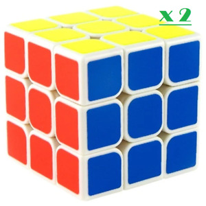 3x3x3 Super Smooth Speed Fast Cube Magic Puzzle Game Cube Toy Clearance Sale x2