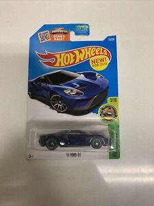 Hot Wheels '17 Ford GT Super Treasure Hunt RARE
