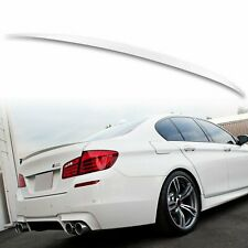 Painted ABS Trunk Spoiler Alpine White III 300 For BMW 5-Series F10 M5 11-16