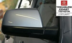 NEW OEM TOYOTA TUNDRA & SEQUOIA MIRROR COVERS 1D6 SILVER SKY METALLIC QTY 2