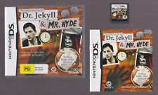 The Mysterious Case of Dr Jekyll and Mr Hyde (Nintendo DS with Booklet manual)