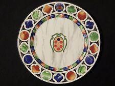 """TAITU Italien Firenze 12 3/8"""" Service Platte Chop Platte Emilio Bergamin"""
