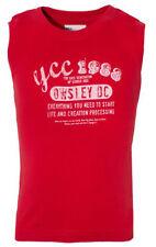 T-shirts, débardeurs et chemises rouge pour garçon de 14 ans