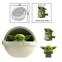Star Wars Baby Yoda The Child Yaddle Mandalorian Minifigure Building Blocks Toy