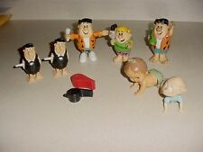 Fred Flintstone Walker Figures Barney Dragnet Whistle 1977 Wind Up Crawling Baby