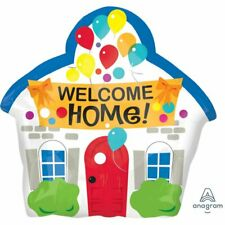 WELCOME HOME HOUSE XL Junior Shape Foil Balloon Decoration