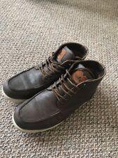 Used Mens soviet boots burgundy size Uk 8