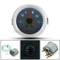 2'' 52mm Led Pressione Turbo Manometro Strumentazione Auto Tuning Gauge  ! /
