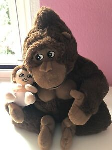 Disney Tarzan Musical Gorilla Plush Plüschtier Baby Kala Stofftier Affe 🦧