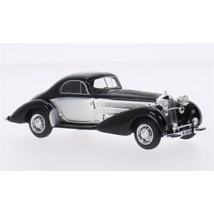 HORCH 853 SPEZIAL COUPE' SILVER/BLACK 1:43 Neo Scale Models Auto d'Epoca