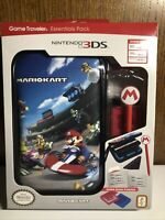 Nintendo 3DS 2DS XL Game Traveler Essentials Pack Super Mariokart System