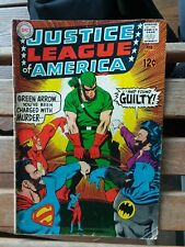 Justice League of America #69 gd wonder woman quits team green arrow flash lot