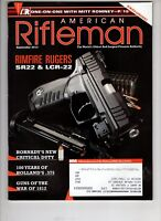 American Rifleman Magazine NRA  Rimfire Rugers SR22 & LCR-22