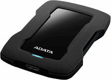 ADATA HD330 1TB USB 3.1 Shock-Resistant Slim Xbox & PS4 External HD Black