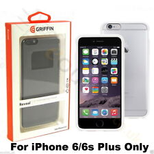 Griffin Reveal Ultra Slim White Protective Bumper Shell Case for iPhone 6S+ Plus