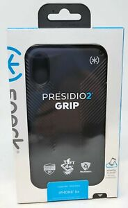 """Speck Presidio Grip Multi Layer Protection Case for Apple iPhone Xr 6.1""""- Black"""