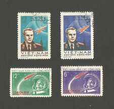 North Vietnam 1961  1st Manned Space  2 SETS FINE USED