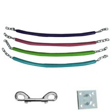 Chain fixing points /& screws Rubberised Flexible Stable Stall Chain Kit