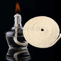 10FT Dia 3/16'' Round Cotton Wick Burner For Oil Kerosene Alcohol Lamp Holder